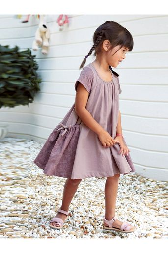 kid fashion - huge pockets dress from vertbaudet (at ellos)