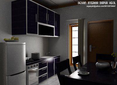 desain interior dapur kecil dapur pinterest
