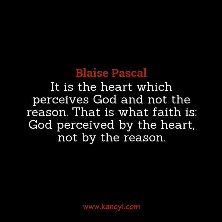 blaise pascal quotes god - photo #1