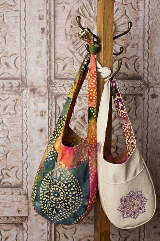 (9) Name: 'Sewing : Swoon India Hobo Bag