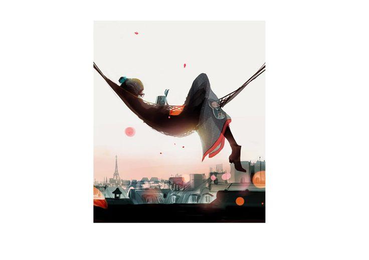 Sophie Griotto Illustration - Slow time 2011
