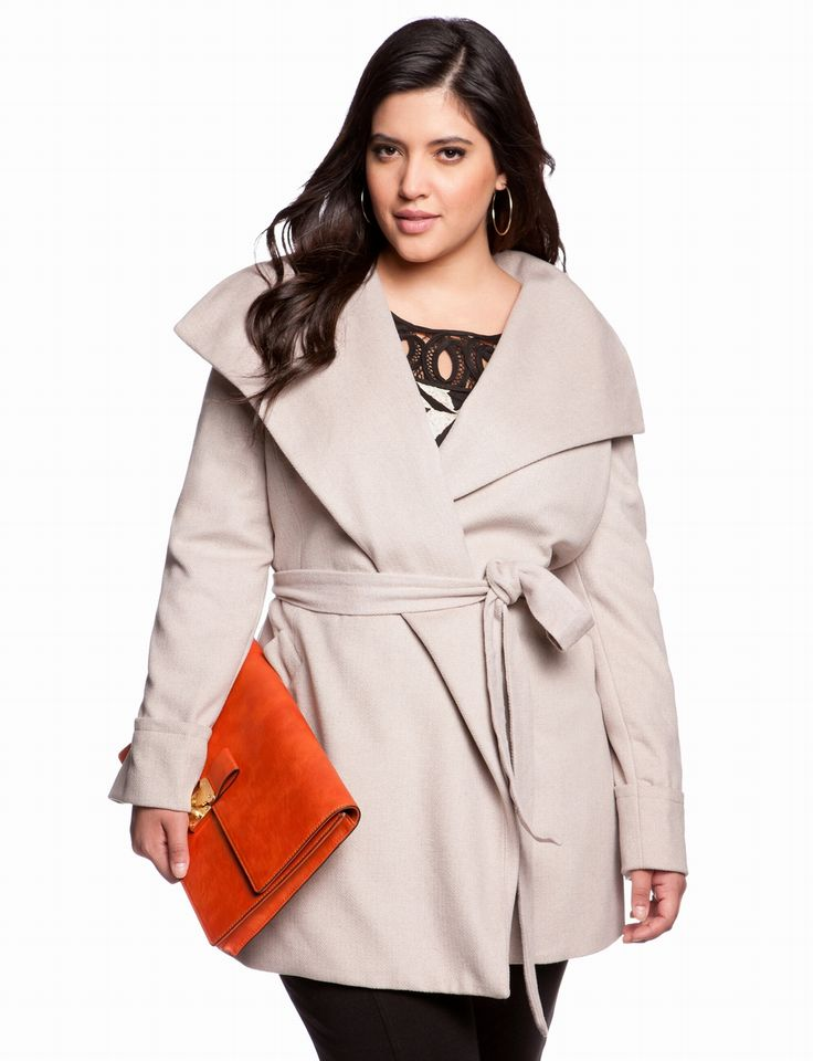 1000  images about Coats on Pinterest | Plus size clothing Girl