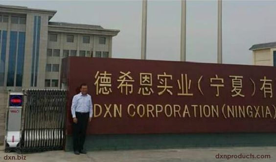 DXN corporation building in Ningxia, China
