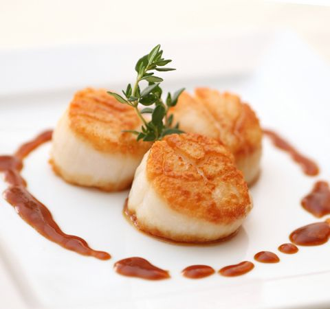 Sea Scallops - Simple and elegant, might be a good for positioning - BB