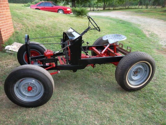 Home Built Articulating Garden Tractor : Best homemade tractors images on pinterest