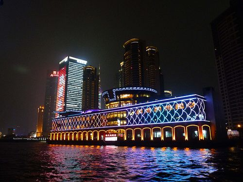 #Evening Cruise on Huangpu River provide the most dramatic views of #Shanghai, but cruises can be enjoyed all day.The evening cruise view of the bund of Shanghai is gorgeous, charming and unbeatable.  http://www.holidaychinatour.com/tour_view.asp?id=33