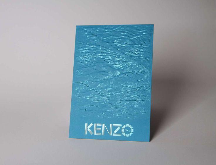 Kenzo - Créanog, Studio de création, Bureau de fabrication, Atelier de gaufrage et marquage à chaud à Paris