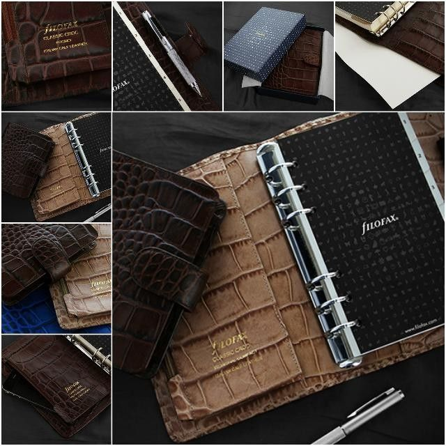 #filofax new Classic Croc #italianleather #organized #beautiful #stationery #planner #journal #filofaxlove #instagood #fashion #ontrend  #luxury #mypushup https://www.mypushup.com