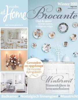 Brocante special winter 2011. #magazine #cover #brocante #shabby