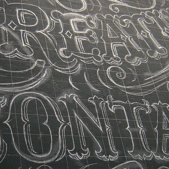 Sign Writing in Progress | Flickr - Photo Sharing!