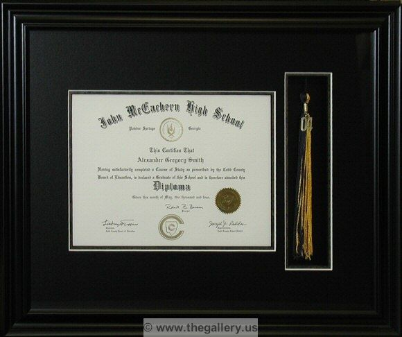 shadow box with diploma with tassel cross stitch framer shadow box custom art framing cheap custom