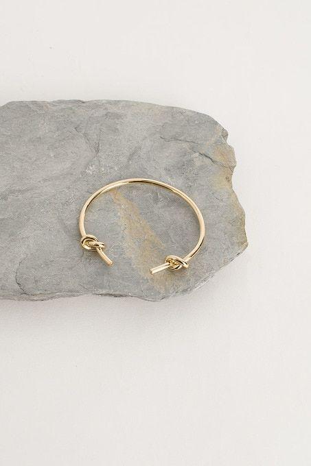 Double Knot Bracelet Gold Plated 100