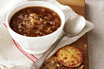 Lower-GI French onion soup