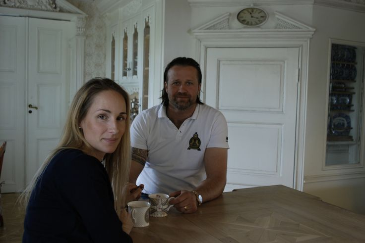 Me and my best designer and carpenter Patrik