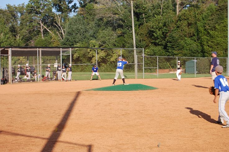 Youth baseball, August 2014