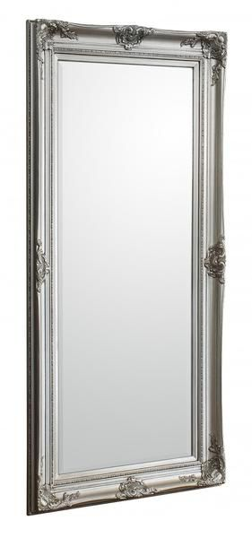 Add graciousness to a traditional European inspired interior with a beautiful full length Baroque mirror. Available in either antique silver or cream marry with formal fabrics such as velvet or silk.