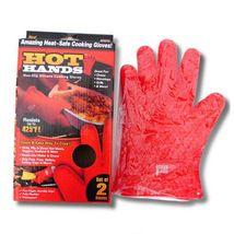 Hot Hands Oven Mitts Gloves BBQ Grilling Cooking Gloves Heat Resistant Gloves