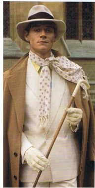 The magnificent Anthony Andrews is Lord Sebastian Flyte in Brideshead Revisited (1975).