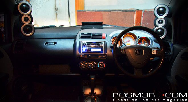 Honda Jazz SQ Gramond Audio #BosMobil
