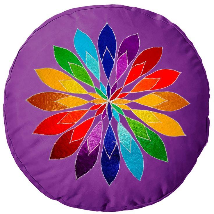 Yogakissen YogiStick® Mandala Flower lilac günstig kaufen