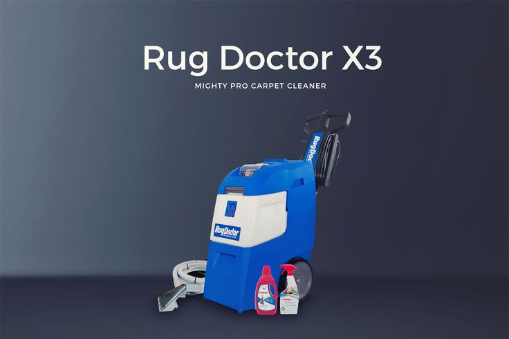 how to clean a rug doctor machine after use