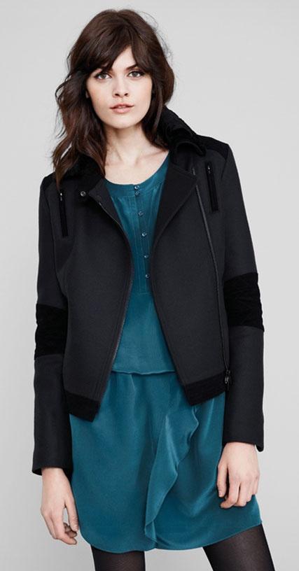 Petite veste noire la redoute