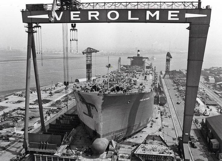 Verolme Botlek Rozenburg (jaartal: 1960 tot 1970) - Foto's SERC