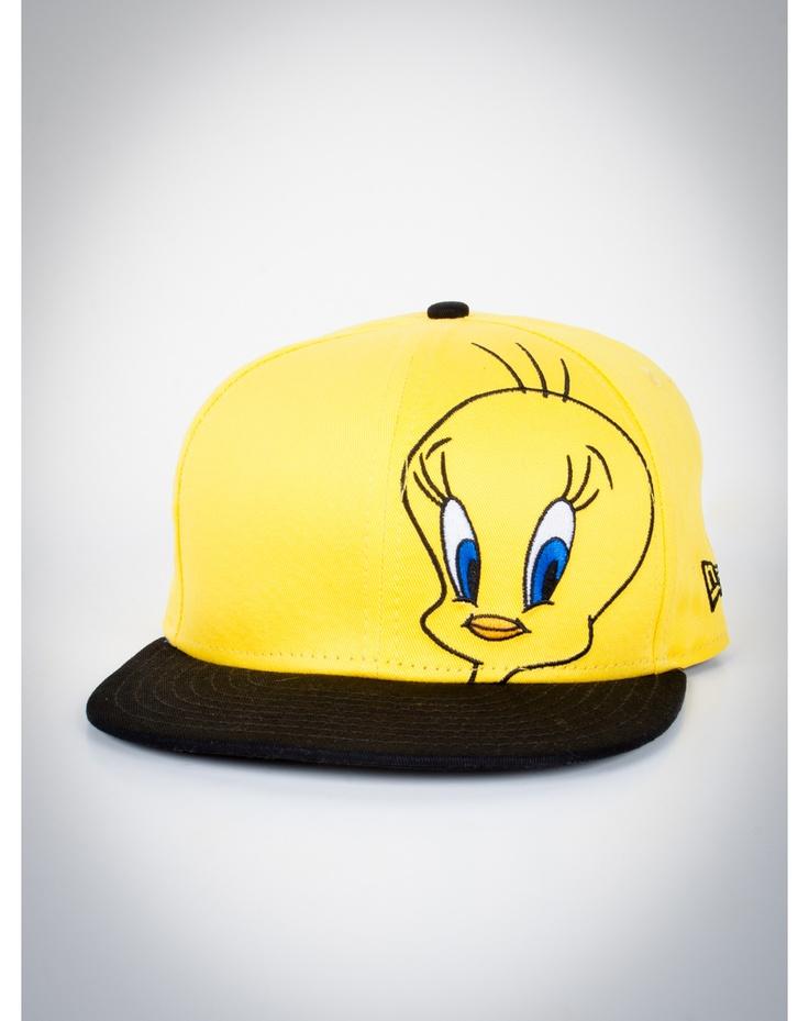 Tweety Bird Snapback New Era Hat. I like.