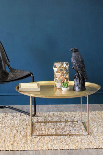 Loft Coffee Table Antique Brass