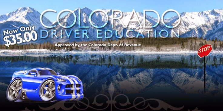 The Online driver education Colorado that we offer is approved by the DMV authority for teenagers of at least 15 years of age in order to get a driving license or learner's permit.