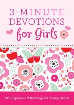 3 Minute Devotions For Girls | Free Delivery when you spend £10 @ Eden.co.uk