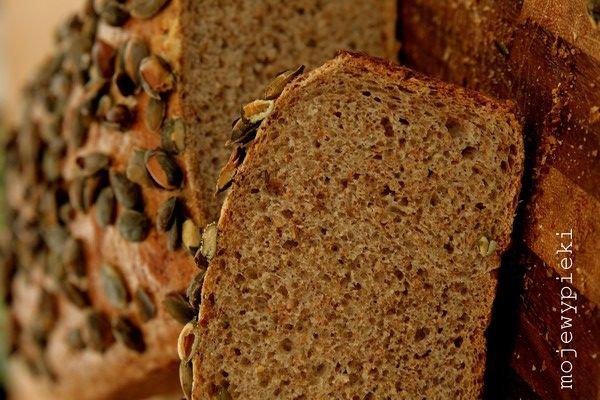 Moje Wypieki | Prosty chleb razowy
