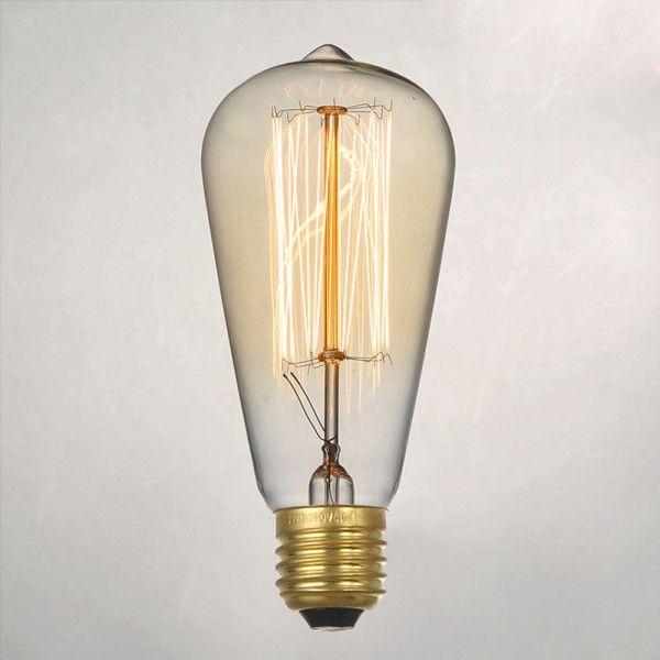 Vintage Light Edison Bulbs E27 or B22 Base Filament