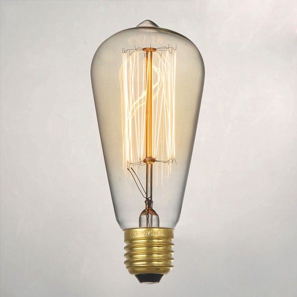 Vintage Light Edison Bulbs E27 or B22 Base Filament