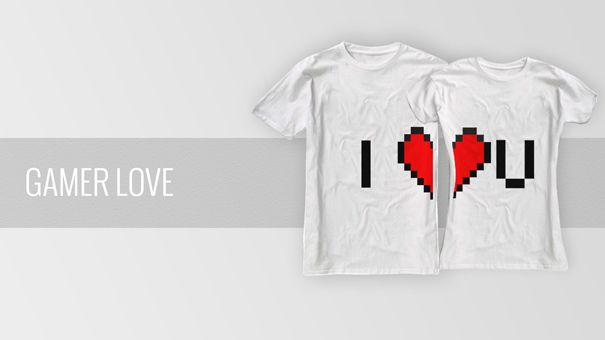 Officially launched our Kickstarter project! See all our matching couple t-shirt designs and get it for yourself: http://kck.st/14F3evA