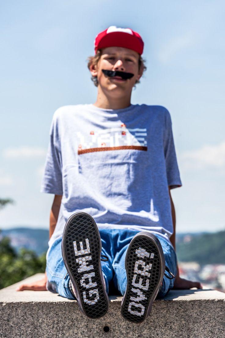 Game over Mario!  #footshop http://www.footshop.eu/en/716-vans-x-nintendo
