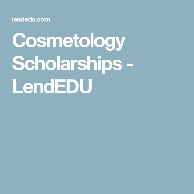 scholarship essays for cosmetology Cosmetology school scholarship programs cosmetology careers have become a necessary part of modern life people take pride in their appearance, and professional the applicant is judged on an essay and a recommendation for someone in the industry pat goins memorial scholarship.