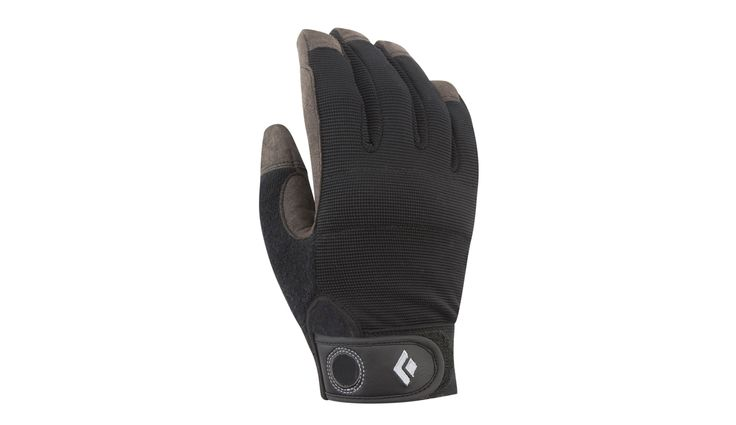 Black Diamond Crag Rock Glove Black - addnature.com