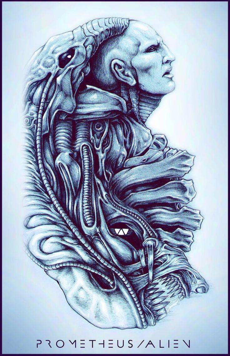 Aliens Movie Tattoo