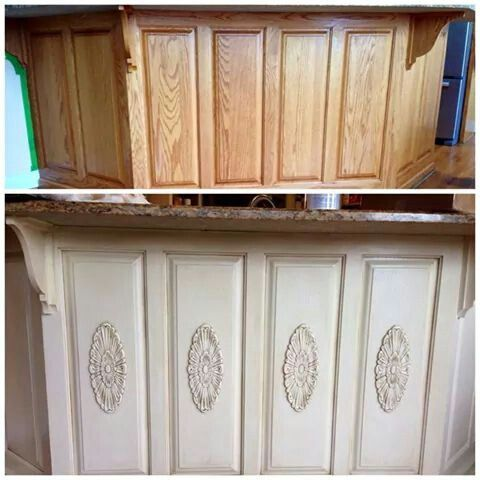 Wood Appliques To Cabinets Diy Pinterest Appliques