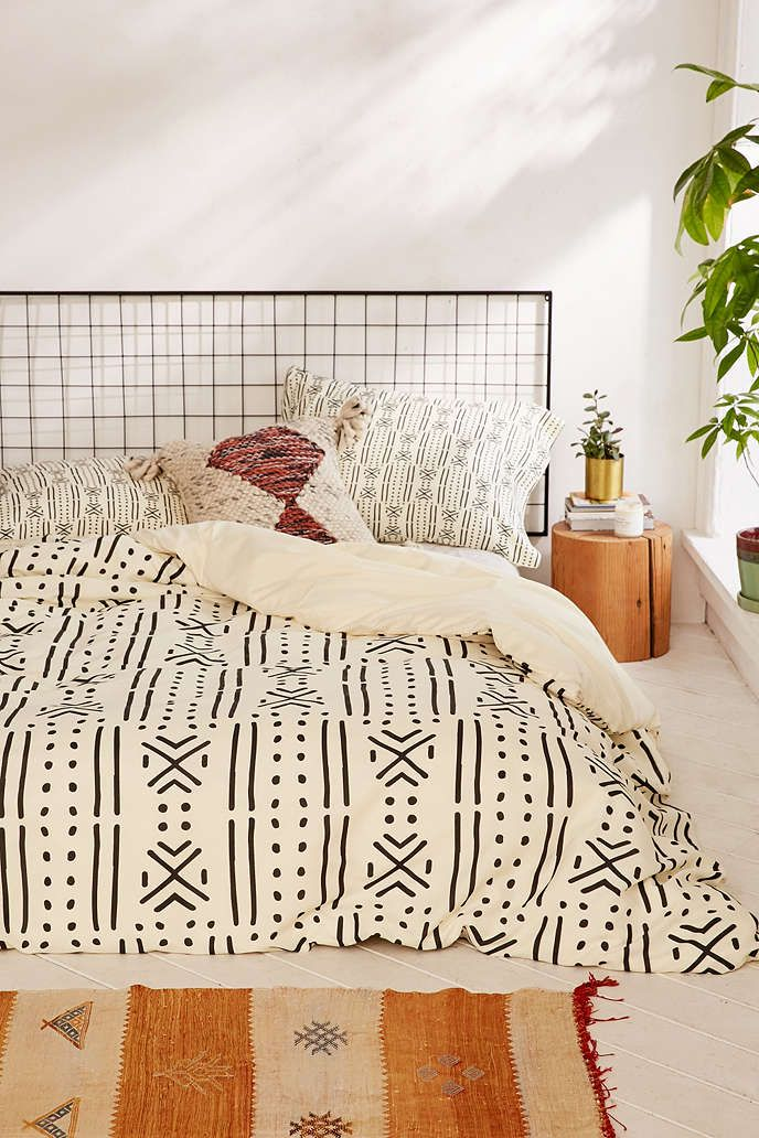 Holli Zollinger For DENY Geo Stripe Duvet Cover - Urban Outfitters