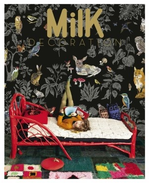 Milk magazine - a French decoration mag for families (I adore that red bed)