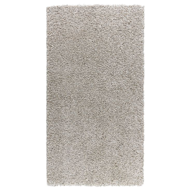 IKEA - ALHEDE, Rug, high pile, The dense, thick pile dampens sound and provides a soft surface to walk on.Durable, stain resistant and easy to care for since the rug is made of synthetic fibers.The high pile makes it easy to join several rugs, without a visible seam.