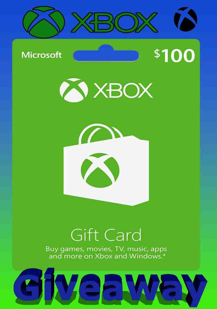 100 xbox gift card giveaway in 2020 xbox gift card