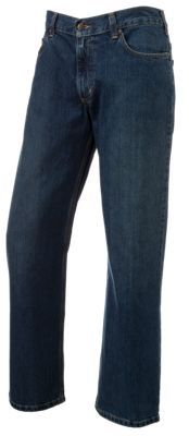 Carhartt Loose Fit Straight Leg Jeans for Men - Worn-in-Blue - 36x32