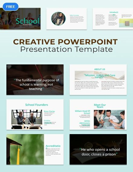 Free Creative Powerpoint Presentation Powerpointtemplates Tools
