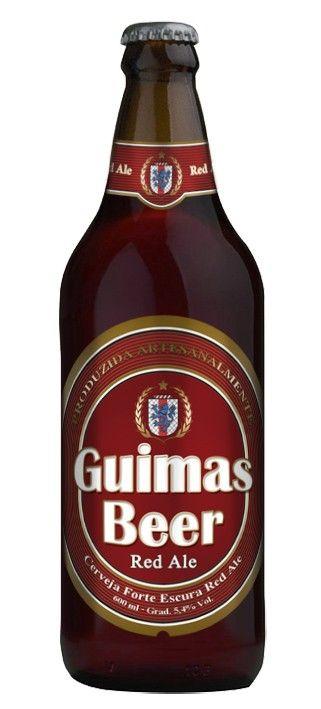Cerveja Guimas Beer Red Ale, estilo Irish Red Ale, produzida por Guimas Beer, Brasil. 5.4% ABV de álcool.