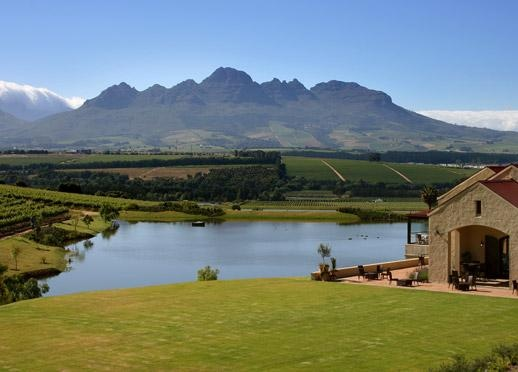 Always enjoy being in Stellenbosch, Western Cape, South Africa.  This is wine farm with a magnificent view of the Stellenbosch Mountains. Beauty and tranquility. Asara...