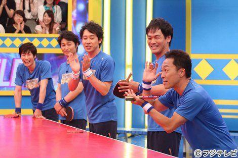 画像・写真 6月29日放送、フジテレビ系『SMAP×SMAPスペシャル』(仮)にTEAMNACSが出演。SMAPと卓球対決 1枚目