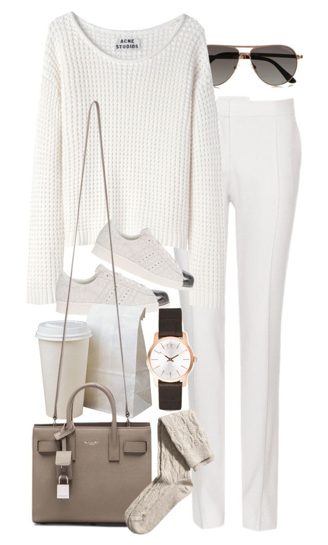 """Untitled #8293"" by nikka-phillips on Polyvore featuring moda, Tom Ford, STELLA McCARTNEY, Acne Studios, adidas Originals, Yves Saint Laurent, H&M y Calvin Klein"